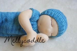 Romper for 14″ Nurture Baby & Hat