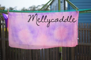 Tie Dyed Play Silk