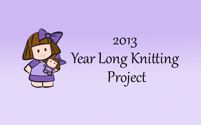 2013 Year Long Knitting Project