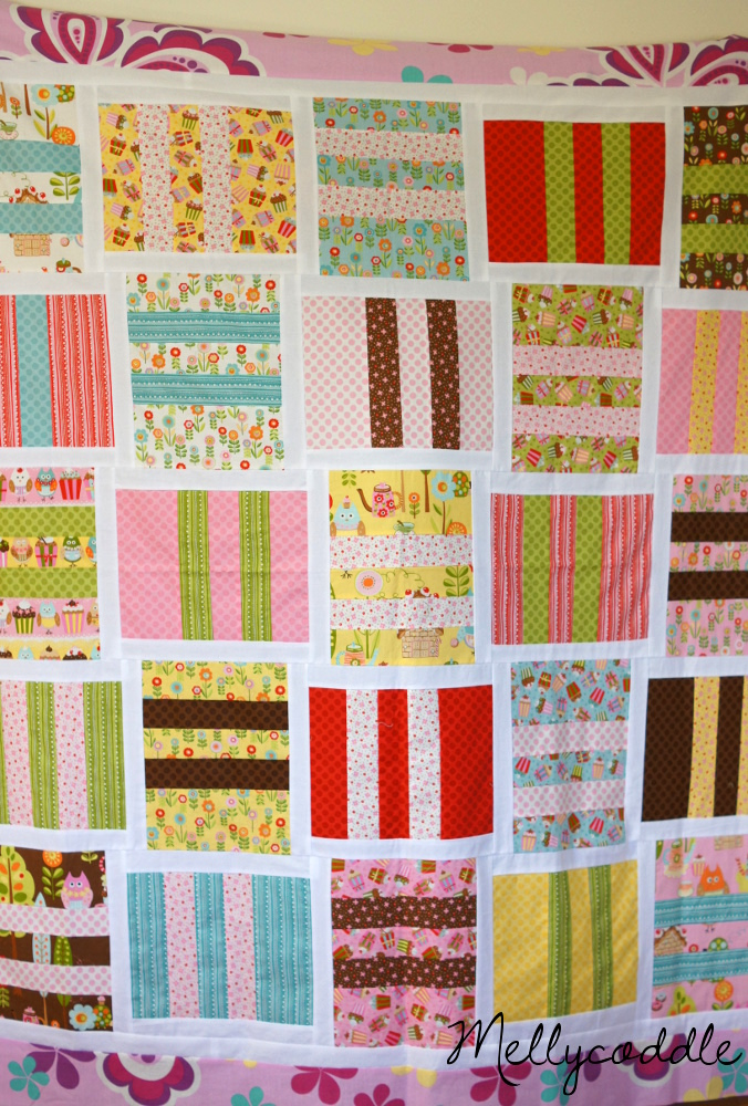 My first Quilt Top – Piece of Cake 3