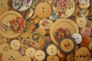 Close up of Buttons