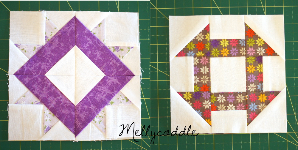 Farmer's Wife Sampler Quilt Blocks 60 and 111