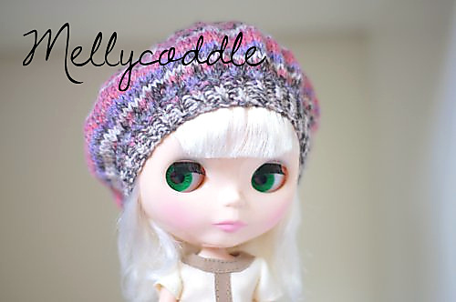 My Simply Vanilla wearing a Ecoliere Beret