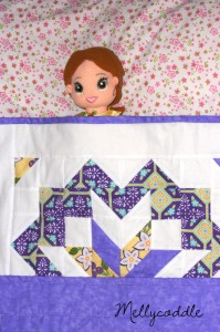 Dolly Quilt in Action