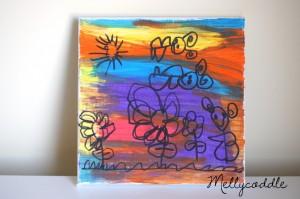 4yo daughter's Artwork