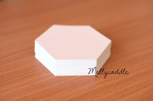 "100 x 1.5"" Hexagon Templates"
