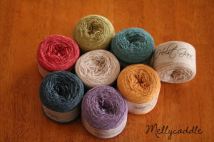 My yarn for On the Spice Market