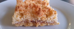 Quick Raspberry Coconut Slice Recipe