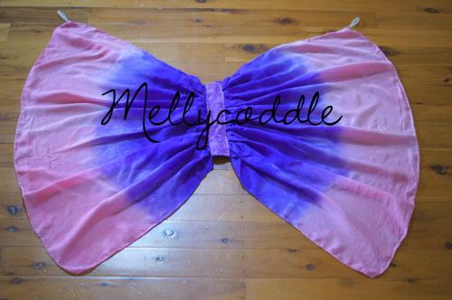 My Girls' Silk Scarf Butterfly Wings
