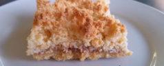 Quick Raspberry Coconut Slice Recipe